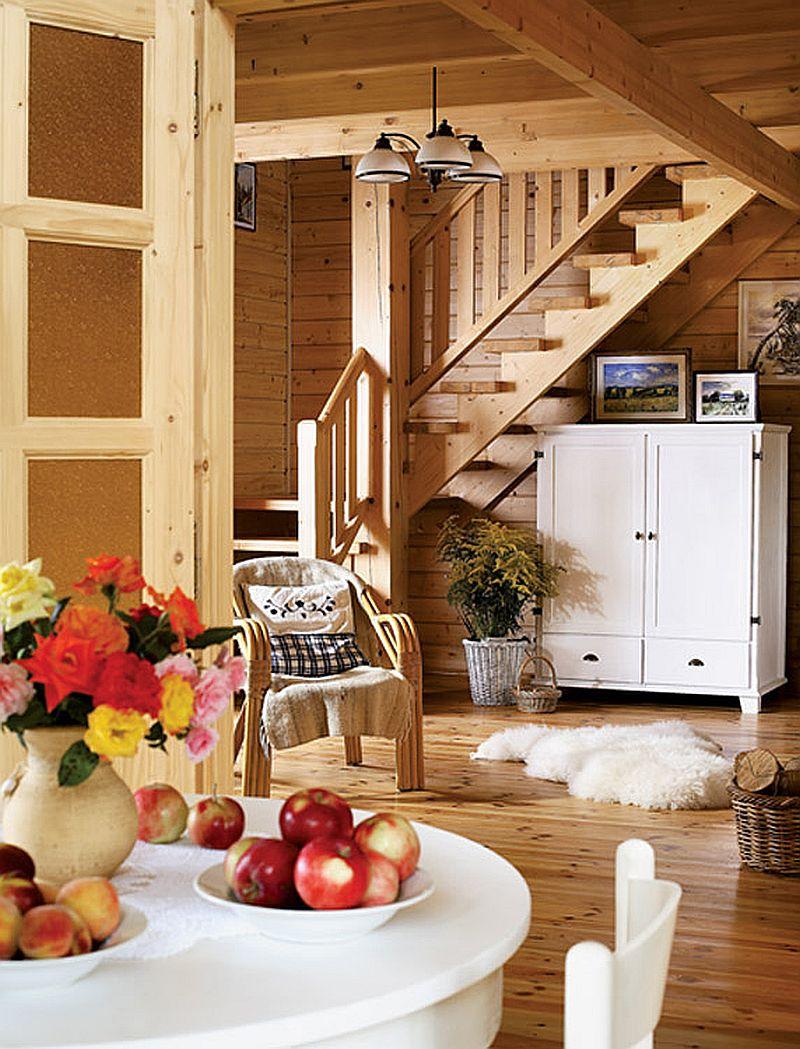 adelaparvu.com despre casa traditionala Foto Michael Przeździk, Weranda Country (5)