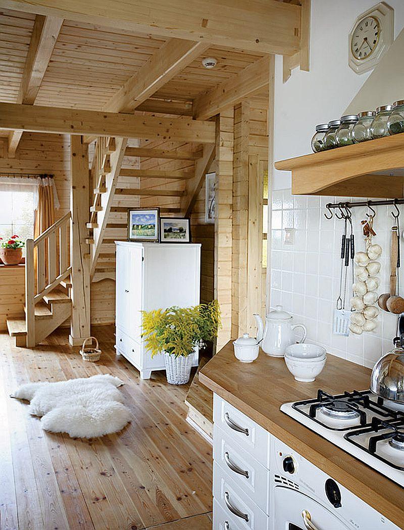 adelaparvu.com despre casa traditionala Foto Michael Przeździk, Weranda Country (8)