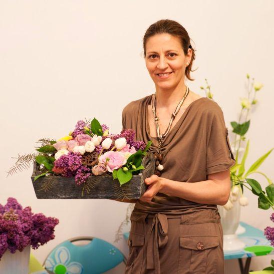 Liliana Masgras designer floral Andeli Design