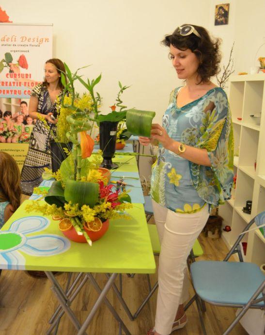 adelaparvu.com despre cursuri florale Andeli Design (3)