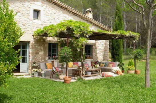 adelaparvu.com despre decorarea terasei foto El Mueble (1)