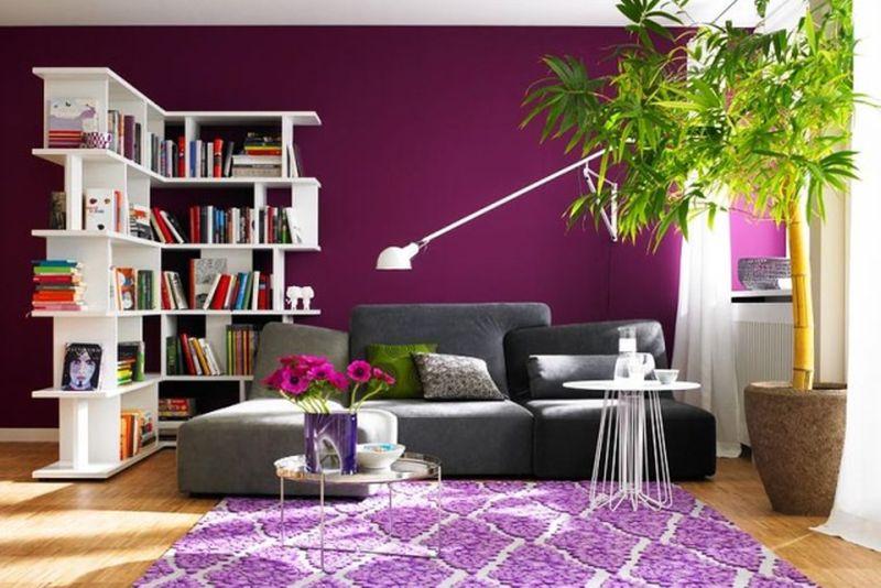 living modern in tonuri de lila adela p rvu interior ForSchoner Wohnen Lila
