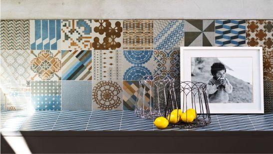 Placi ceramice Mutina colectia Azulej designer Patricia Urquiola