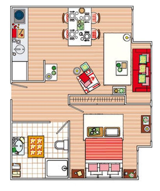 adelaparvu.com bucatarie separata cu panouri japoneze Foto Casa Diez (9)