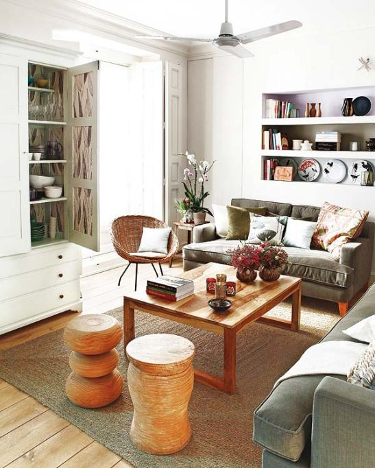 adelaparvu.com despre apartament cu mobila din lemn (1)