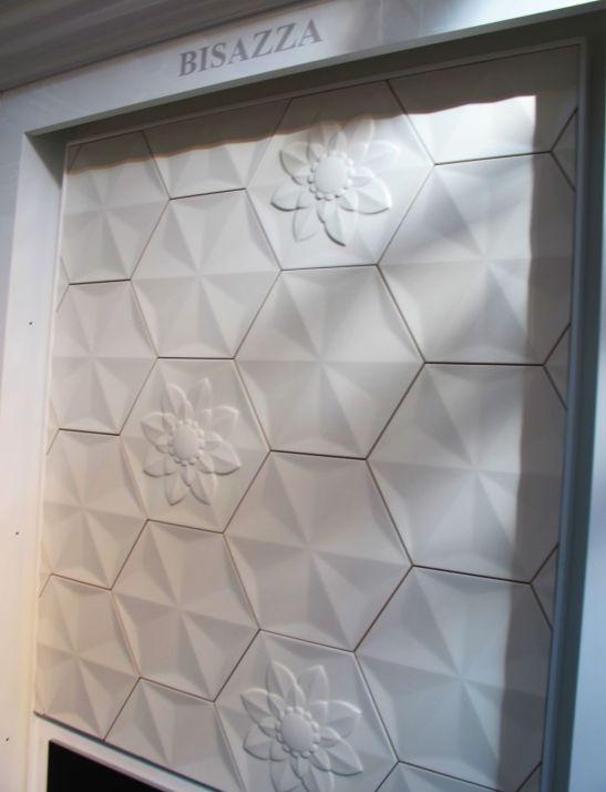 Detaliu Frozen Garden design Marcel Wanders pentru Bisazza