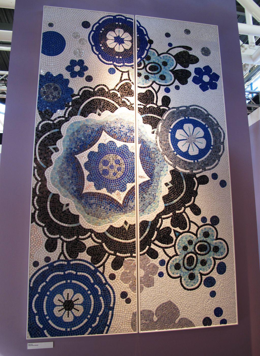 Mozaic artistic semnatd e Marcel Wanders pentru Bisazza