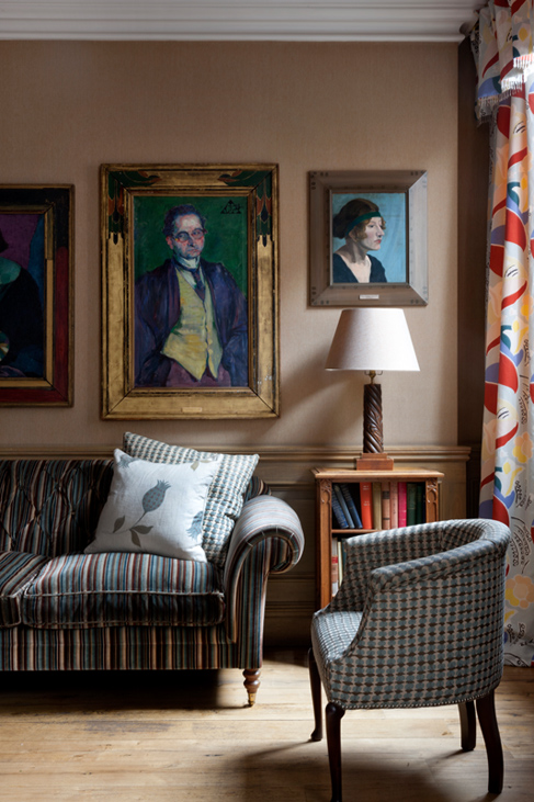 adelaparvu.com despre Charlotte Street Designer Kit Kemp (1)