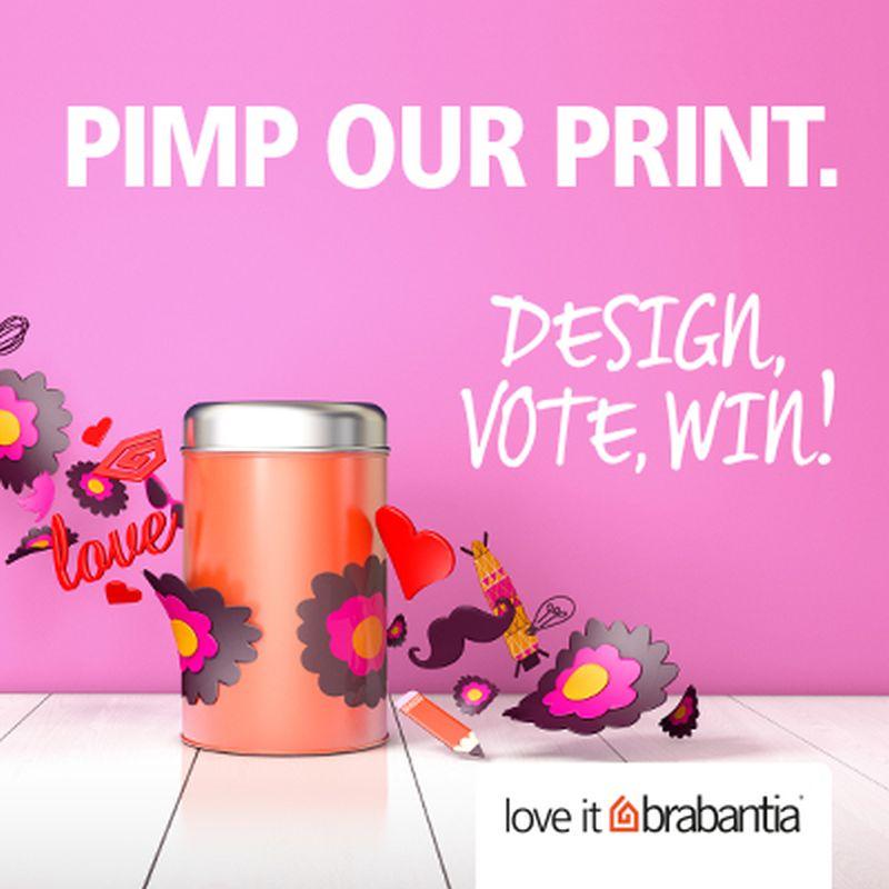 adelaparvu.com despre concurs Brabantia 2013 Pimp Our Print