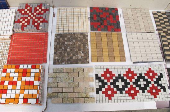 Cel mai scump mozaic este cel de dimensiuni mici, sub 3x3 cm