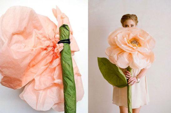 adelaparvu.com despre flori gigantice din hartie Design Ruche 6
