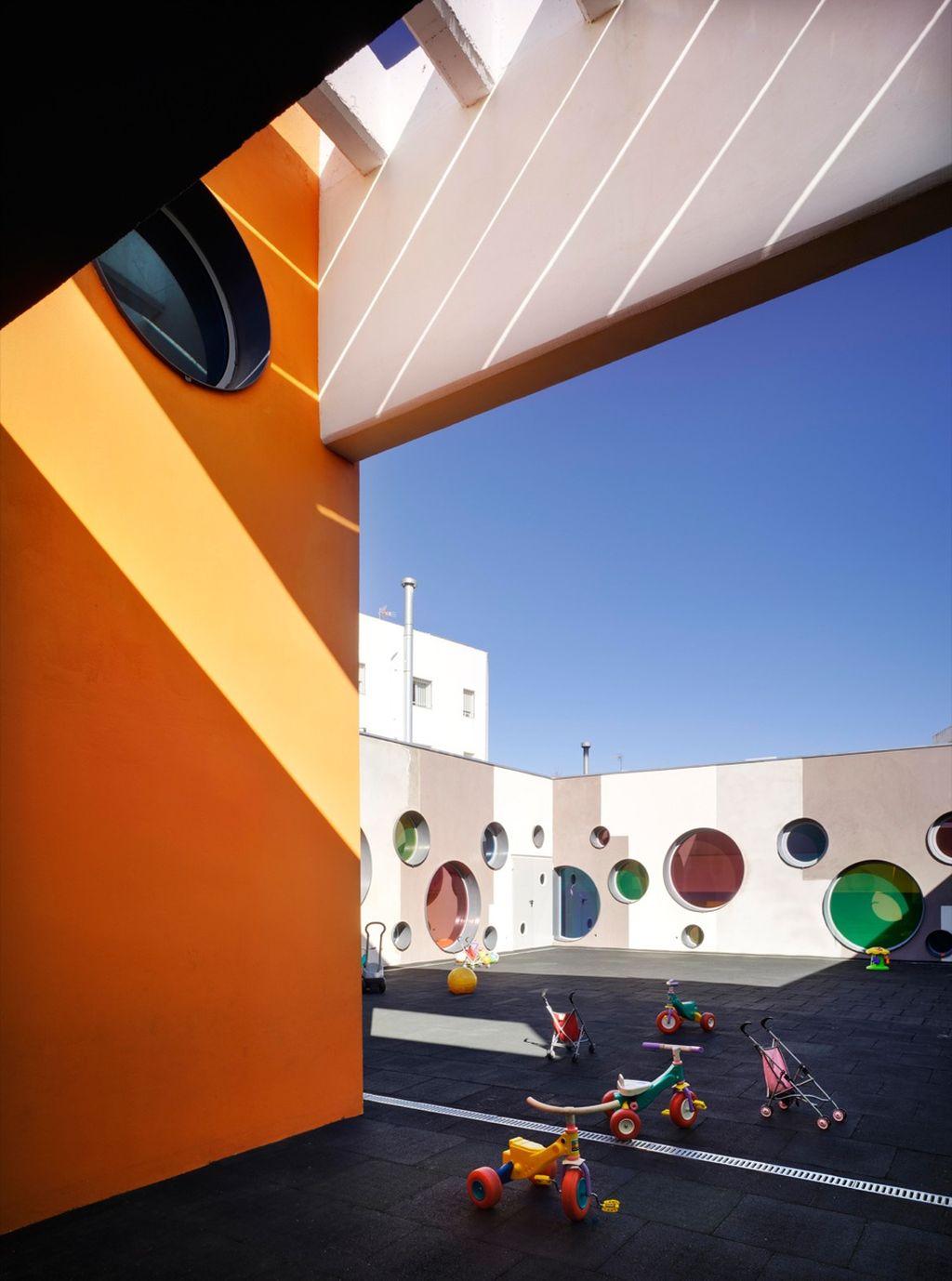 adelaparvu.com despre gradinita Velez Rubio arhLosdelDesierto Foto David Frutos