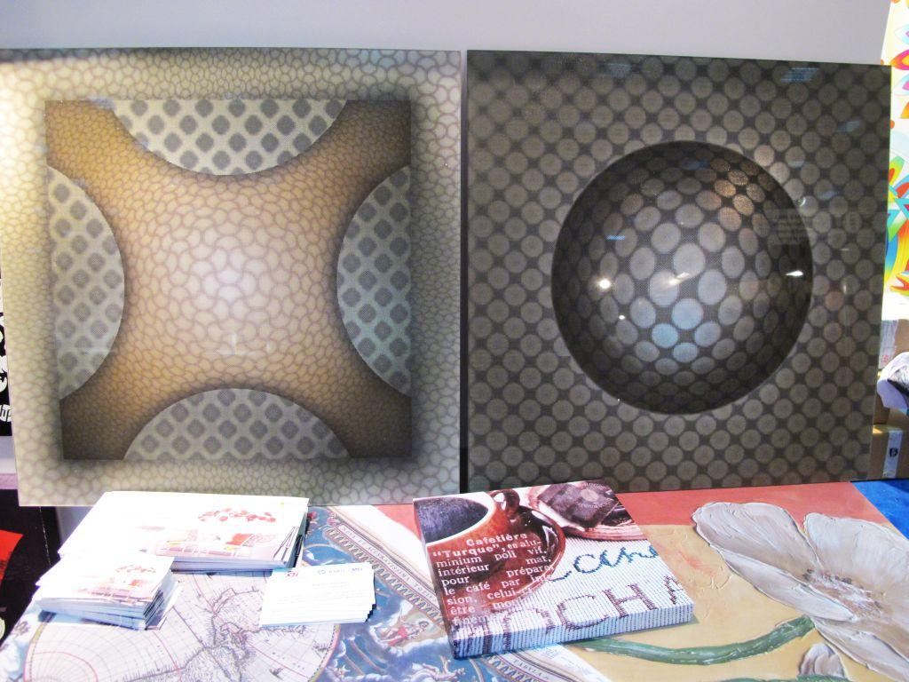 Placi de sticla pretiparita holografic