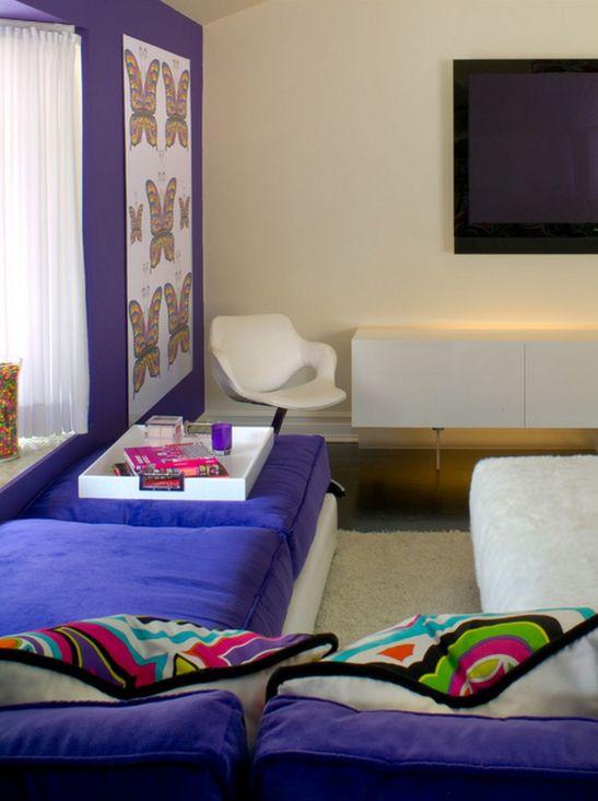 adelaparvu.com despre living mov designer Tracy Murdock Foto Alexander Vertikoff (1)