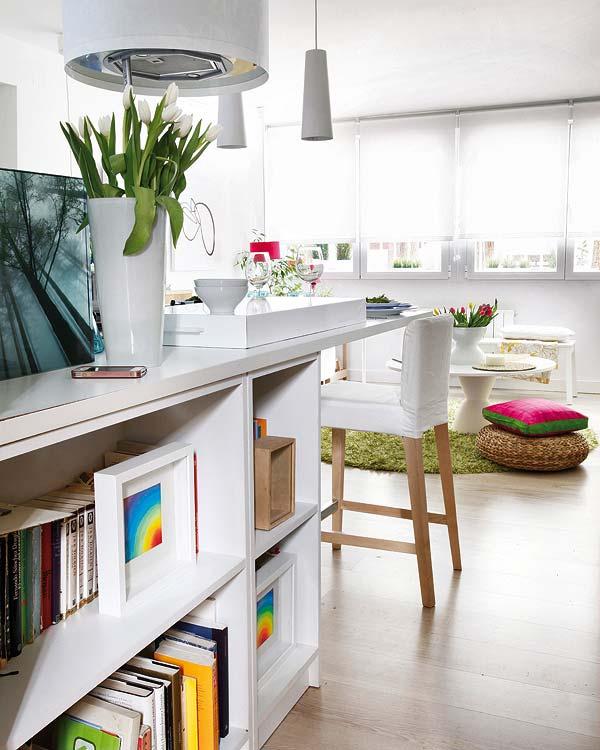 adelaparvu.com despre locuinta mica cu bucatarie deschisa designer Paloma Pacheco Foto Micasa (2)