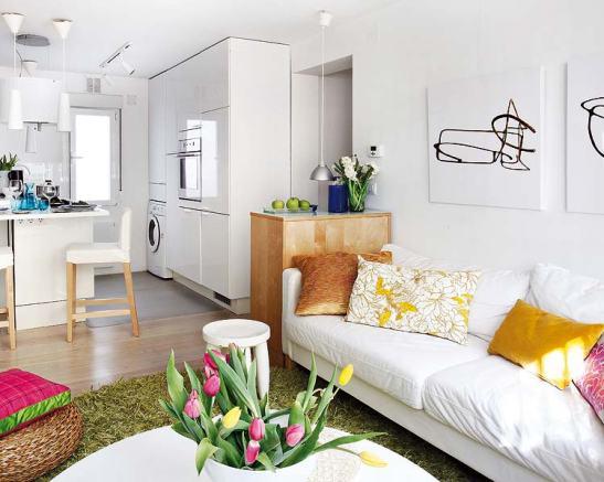 adelaparvu.com despre locuinta mica cu bucatarie deschisa designer Paloma Pacheco Foto Micasa (6)