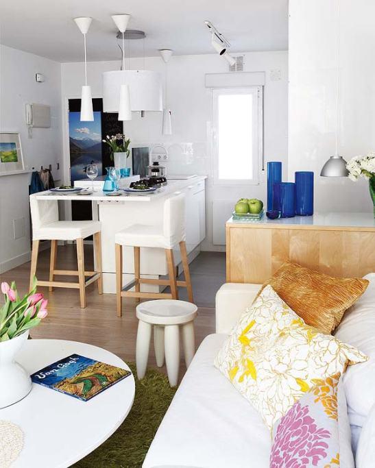 adelaparvu.com despre locuinta mica cu bucatarie deschisa designer Paloma Pacheco Foto Micasa (8)