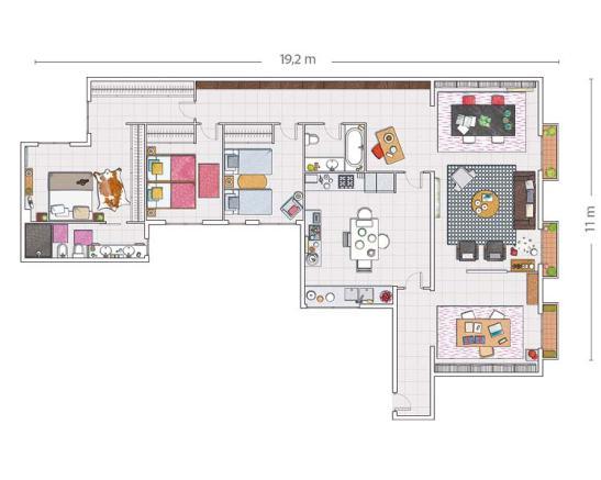 adelaparvu.com despre loft Rocio Monasterio Foto Micasa (1)