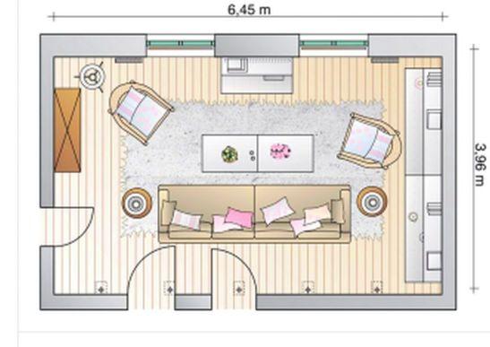 adelaparvu.com despre mobila in camera cu multe usi si ferestre (3)