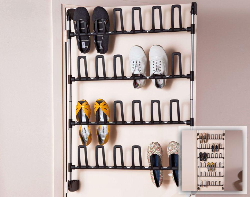 Suport pentru pantofi cu fixare pe usa pentru 12 perechi de pantofi. Poate fi extins pentru 18 perechi. Pret si detalii AICI
