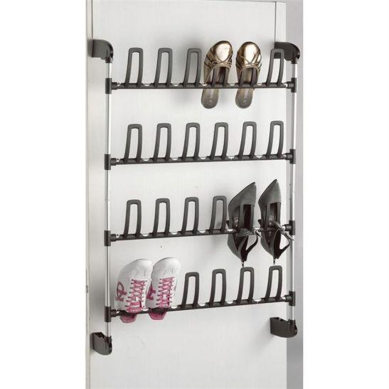 Suport pentru pantofi cu fixare pe usa pentru 12 perechi de pantofi. Pret si detalii AICI