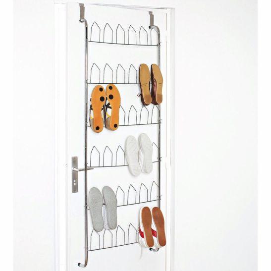 Suport pentru pantofi din metal cu fixare pe usa. Loc pentru 18 perechi de pantofi. Pret si detalii AICI.