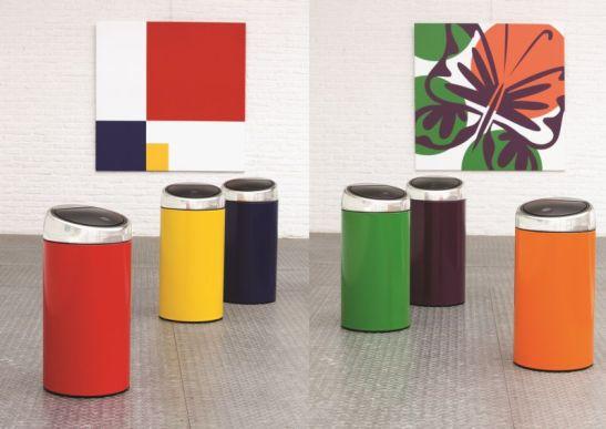 Cosuri de gunoi colorate model TB45L de la Brabantia