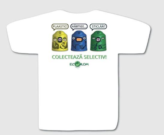 Locul I Design de tricou Eco Rom Ambalaje creat de Dragos Chiorean