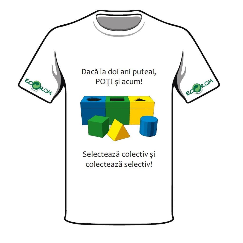 Locul II_Design de tricou Eco Rom Ambalaje Gherghin Cristiana din Bucuresti