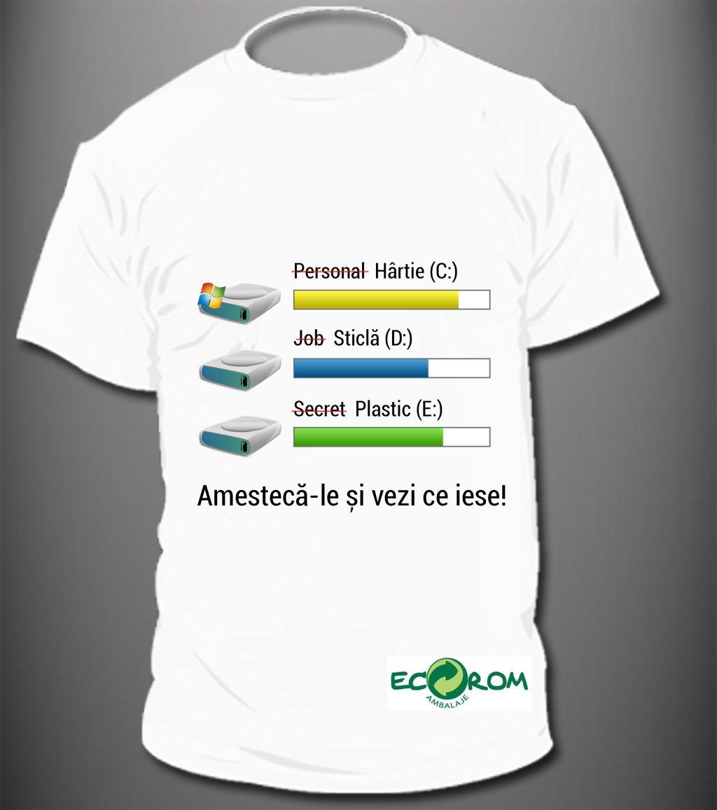 Locul III_Design de tricou Eco Rom Ambalaje Semenescu Serban Constantin din Botosani si Gherghelescu Alexandru Eugen din Constanta