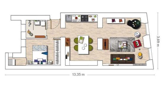 adelaparvu.com aprtament in depozit Design Paloma Angulo Foto Micasa (14)