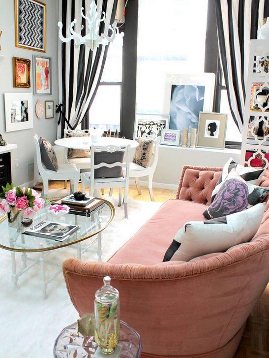 adelaparvu.com despre amenajare firma PR fashion Designer Nichole Loiacono (8)