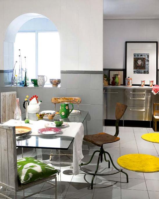 adelaparvu.com despre apartament artisti Foto Micasa (8)