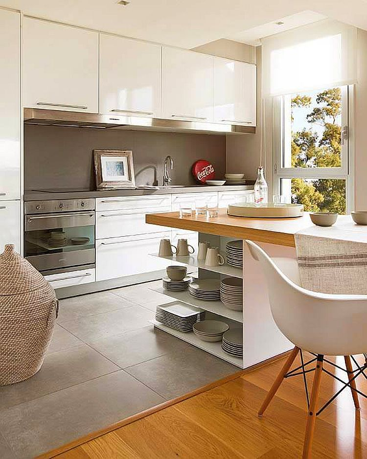 adelaparvu.com despre apartament moden gri si maro Foto Micasa (6)