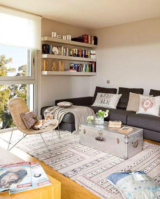 adelaparvu.com despre apartament moden gri si maro Foto Micasa (7)