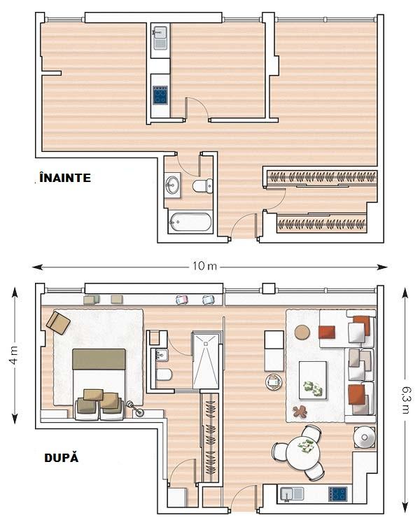 adelaparvu.com despre apartament radical transformat Foto Micasa (13)