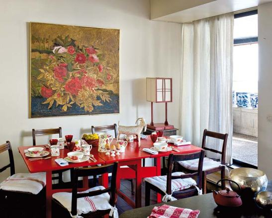 adelaparvu.com despre casa artistei Isabelle Deborchgrave foto Micasa (10)