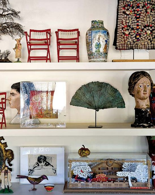 adelaparvu.com despre casa artistei Isabelle Deborchgrave foto Micasa (3)