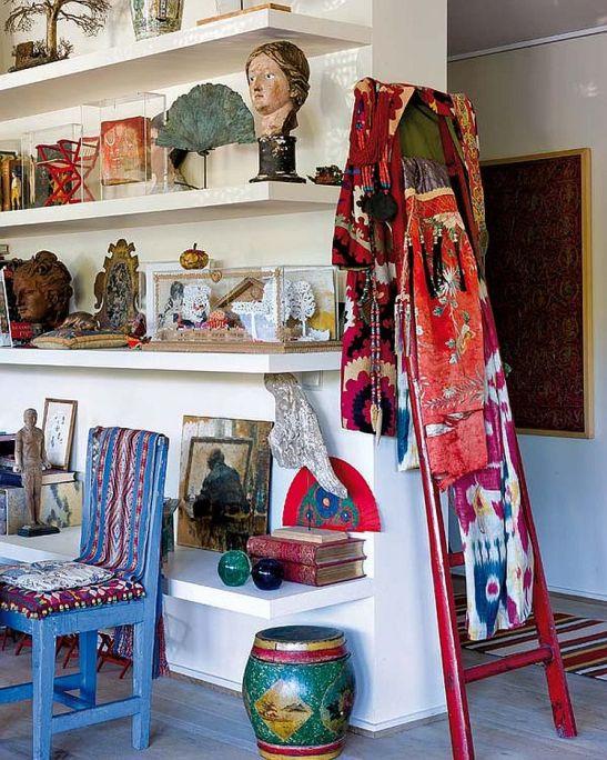 adelaparvu.com despre casa artistei Isabelle Deborchgrave foto Micasa (5)