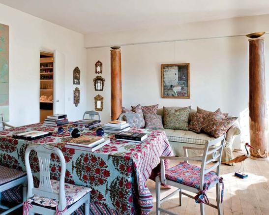 adelaparvu.com despre casa artistei Isabelle Deborchgrave foto Micasa (7)