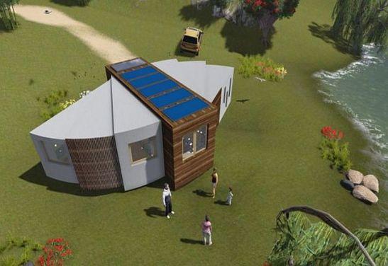 Casa evantai extinsa
