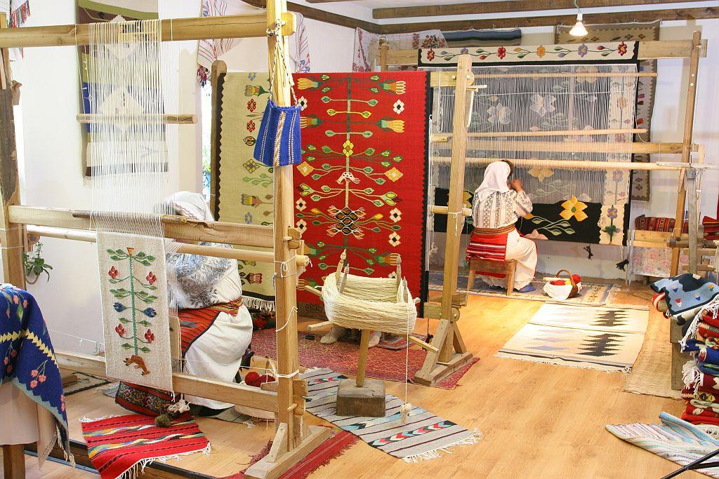 Atelierul Antoanetei Nadu din Bechet, judetul Olt