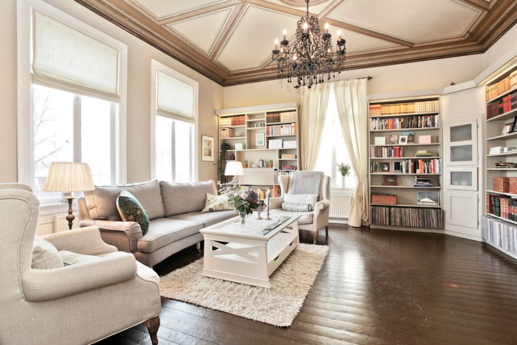 adelaparvu.com despre interior elegant chalet elvetian designer  Anne Cecilie Ranke (3)