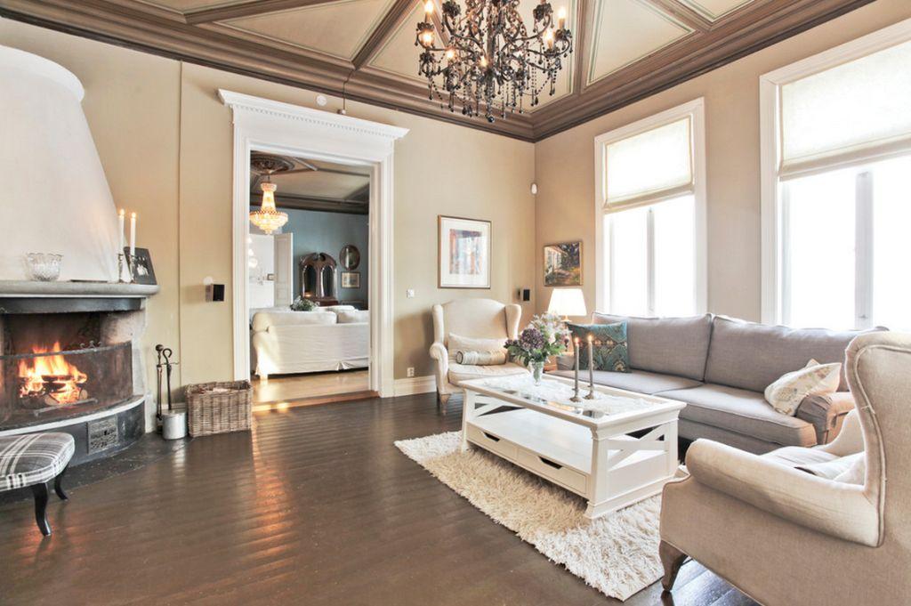 adelaparvu.com despre interior elegant chalet elvetian designer  Anne Cecilie Ranke (4)