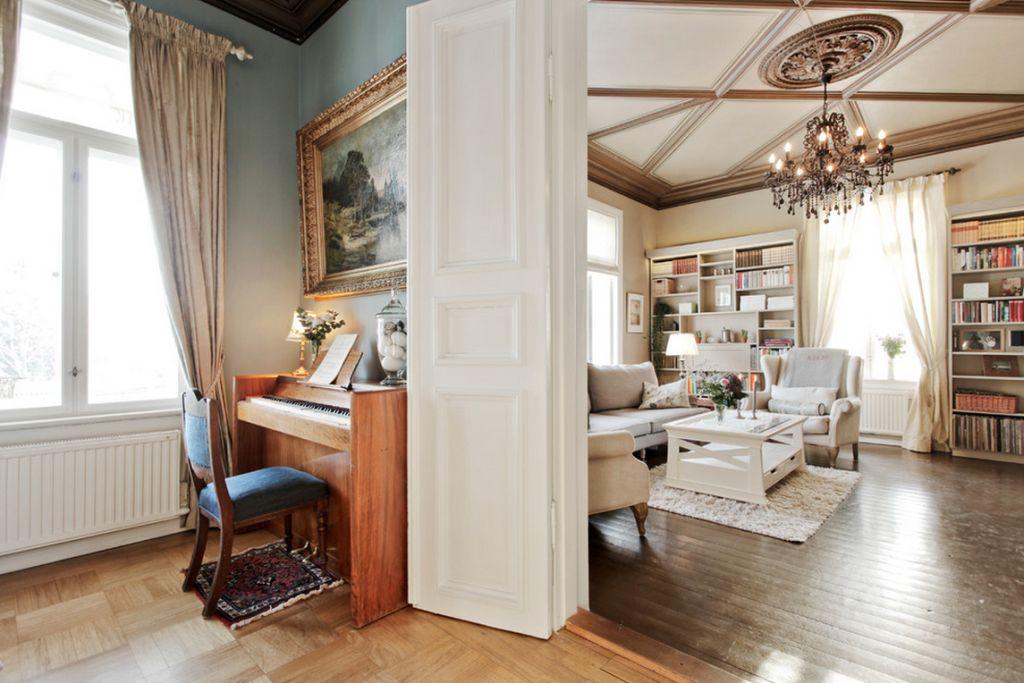 adelaparvu.com despre interior elegant chalet elvetian designer  Anne Cecilie Ranke (5)