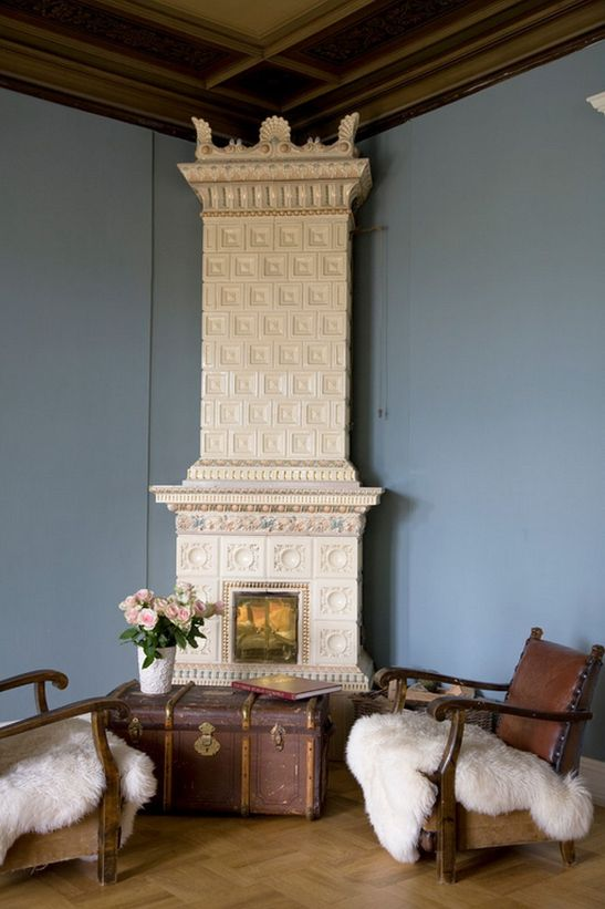 adelaparvu.com despre interior elegant chalet elvetian designer  Anne Cecilie Ranke (9)