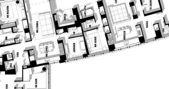 Planul locuintei conceput de echipa de la Incorporated