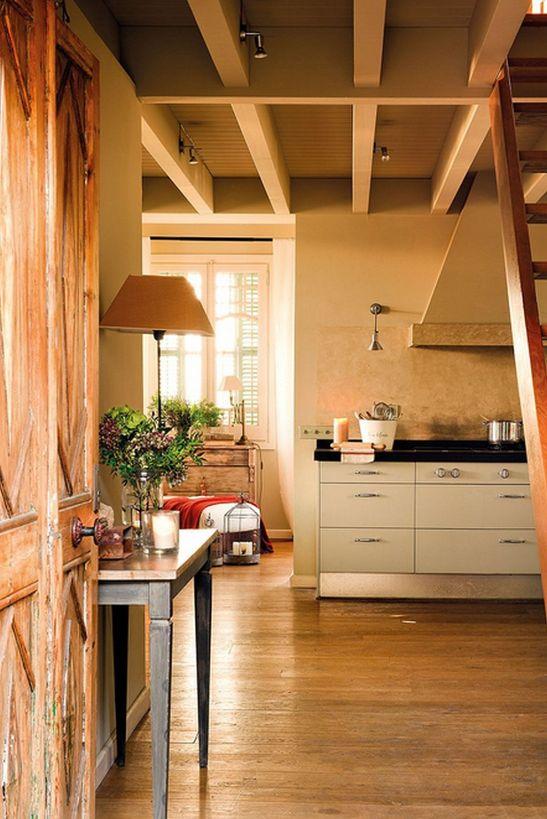 adelaparvu.com despre modern si rustic intr-o casa veche Foto ELMueble (6)