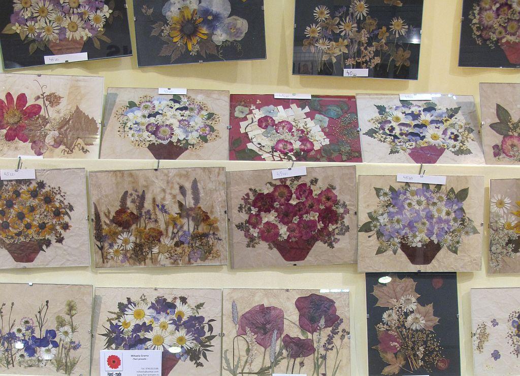 adelaparvu.com despre tablouri cu flori presate (2)