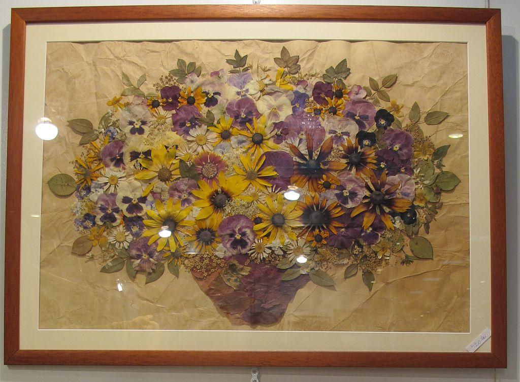 adelaparvu.com despre tablouri cu flori presate (8)